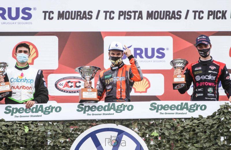 Bundziak se ubicó en lo más alto del podio en el TC Mouras