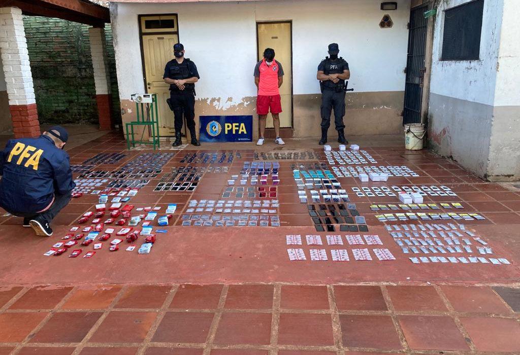 Secuestraron mercadería de contrabando valuada en 700.000  pesos en misiones
