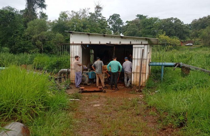 El gobernador obtuvo los fondos de nación para la ejecución de obra en  la toma de agua del Mboca-í