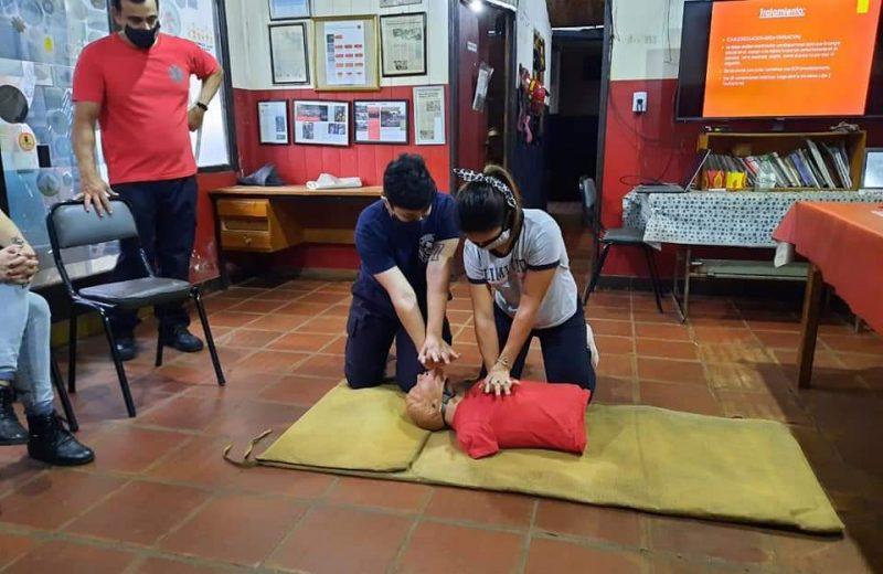 Argentina Reanima: Bomberos capacitarán en RCP en el hito de las tres fronteras
