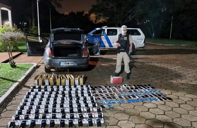 Prefectura secuestró celulares y repuestos por más de 3.600.000  pesos