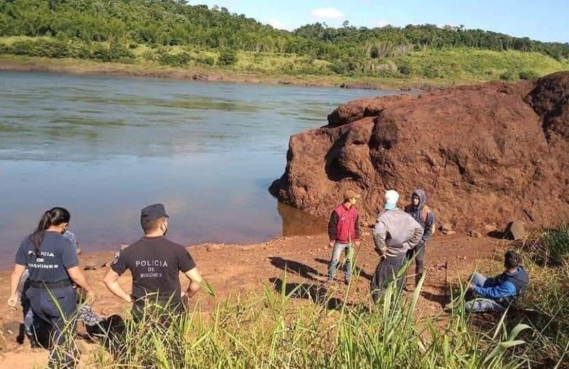 La policía de Paraguay confirmó que el cuerpo hallado a orillas del río Paraná es el joven buscado en Iguazú