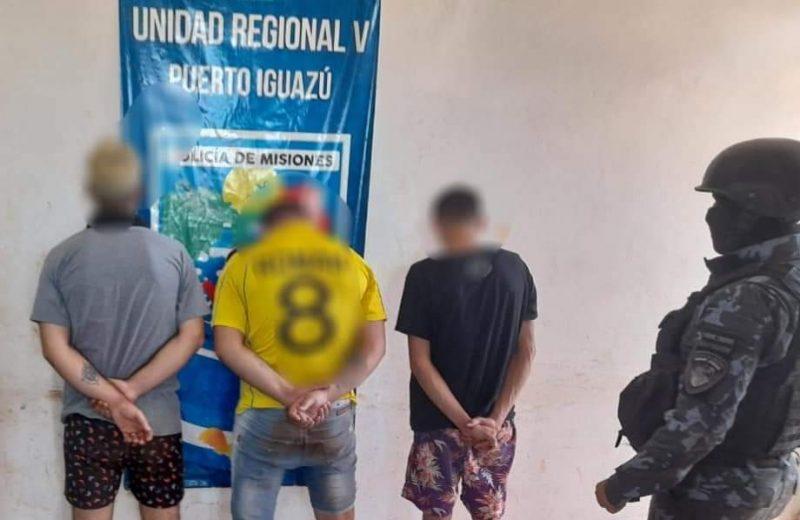 Desbarataron un kiosco narco y detuvieron a sospechosos de un robo