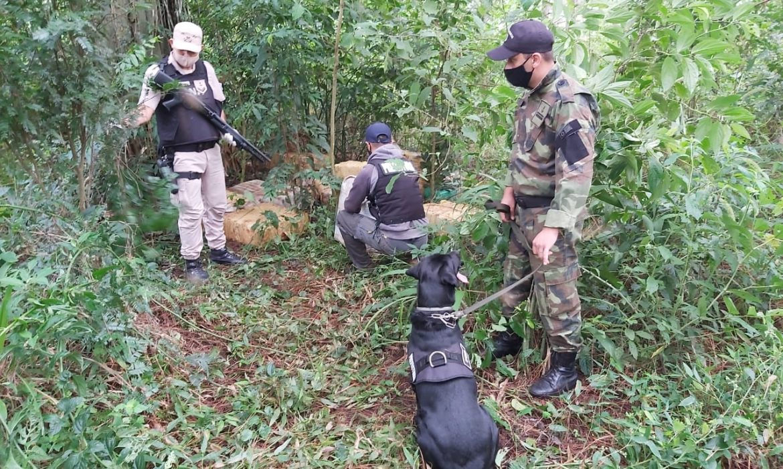 Secuestraron más de una tonelada de marihuana en Eldorado