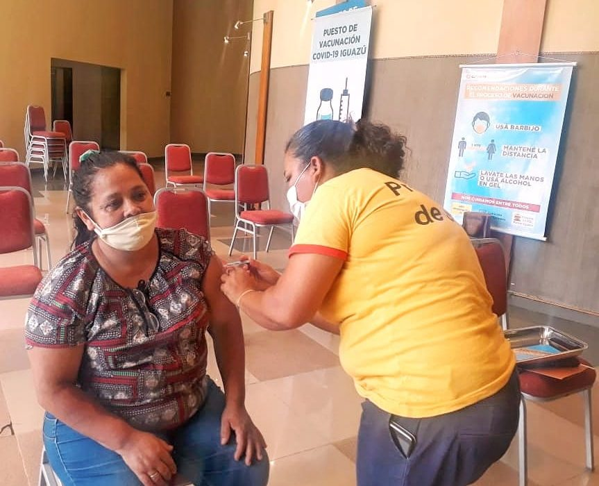 Fue la tercer paciente covid-19 positivo de la provincia y se vacunó