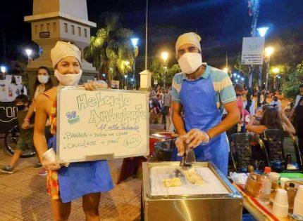 Helado Tailandés en Iguazú y el boom de arte y gastronomía