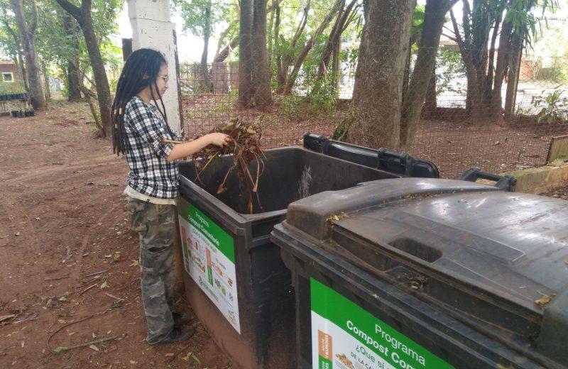 El compostero comunitario ya cuenta con el primer punto de acopio