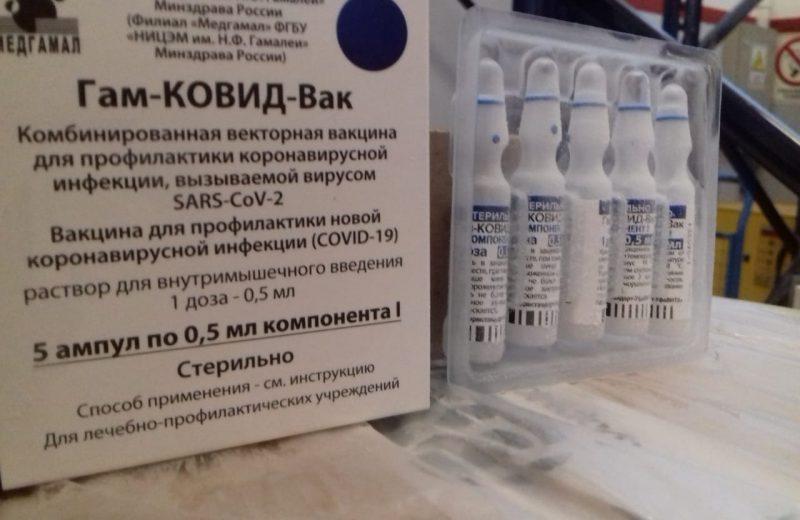 Ingresó otro lote de vacunas sputnik V a Misiones