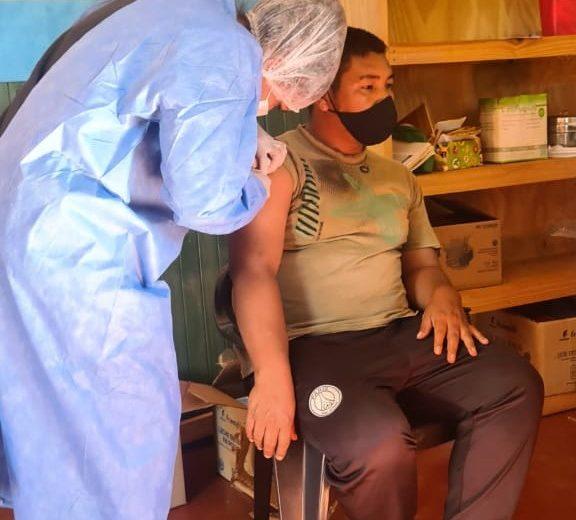 Misiones avanza en la vacunación contra el COVID 19