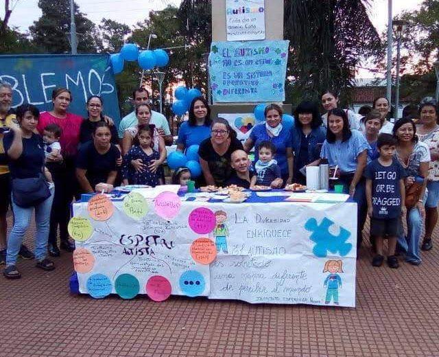 Caminata y Jornada de concientización sobre autismo en Iguazú
