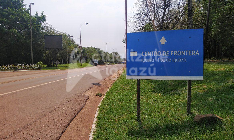 Frontera: por decreto solo residentes de Foz podrían salir de Brasil por el puente Tancredo Neves