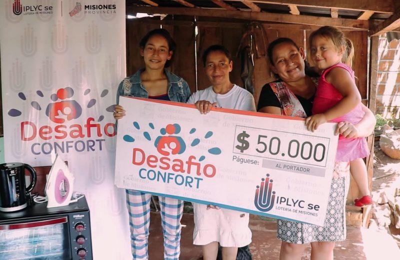 Invertirá el dinero del premio de Desafío Confort en arreglos de su casa