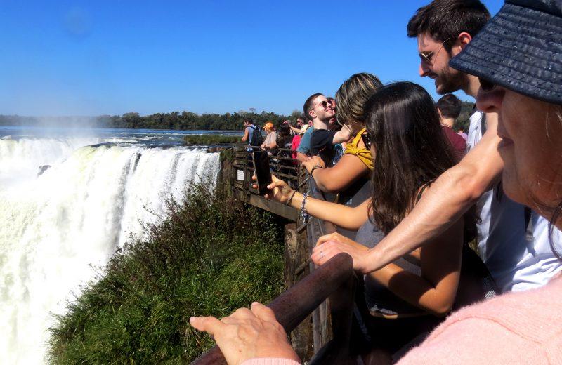 Cataratas superó el millón de visitas el sábado