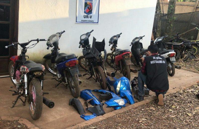 La Policía recuperó varias motos robadas