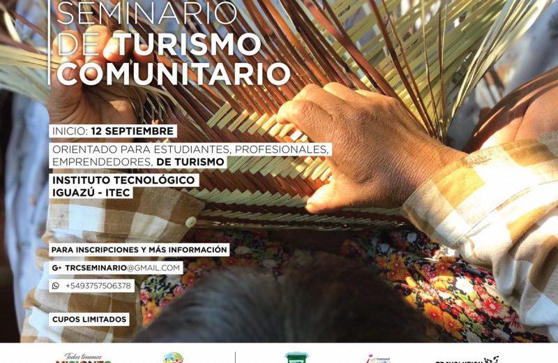 En septiembre inicia el Seminario de Turismo Comunitario en Iguazú