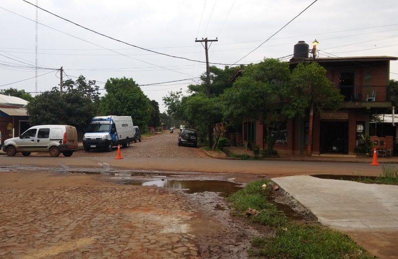 Iguazú: la ciudad de los baches