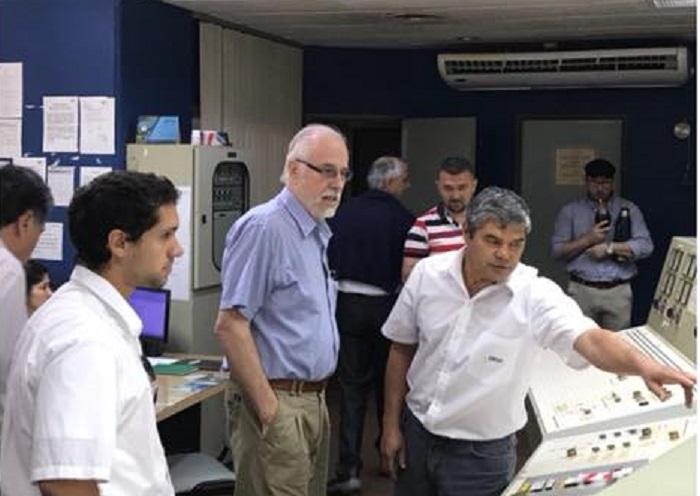 Supervisaron trabajos de mantenimiento de Central Hidroeléctrica Urugua-i