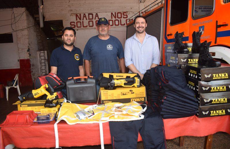 Nuevas herramientas para los Bomberos de Iguazú