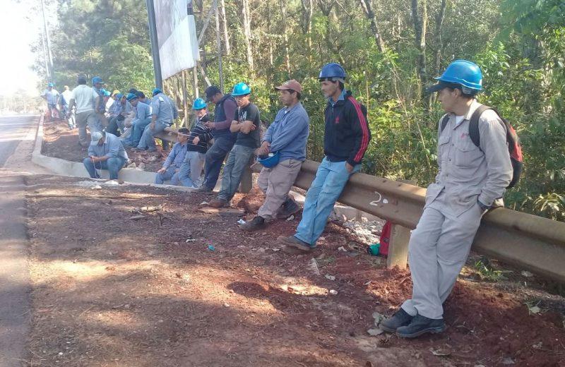Conflicto aeropuerto: Hoy los obreros tienen audiencia en el Ministerio de trabajo