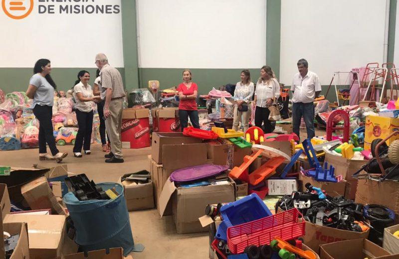Hospital de juguetes recibió donaciones