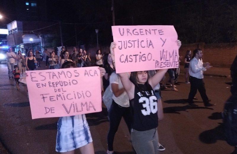 Amigas y compañeras de Vilma salieron a la calle a exigir justicia