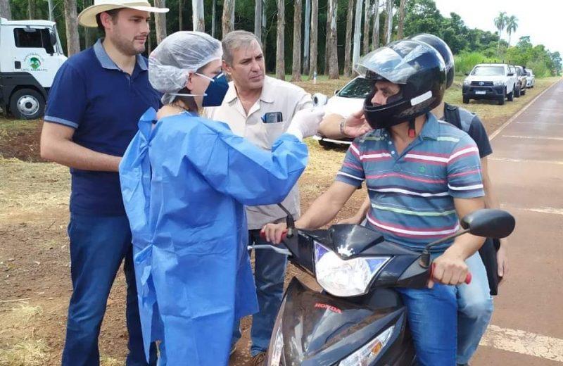En Andresito el municipio realiza control riguroso en la frontera