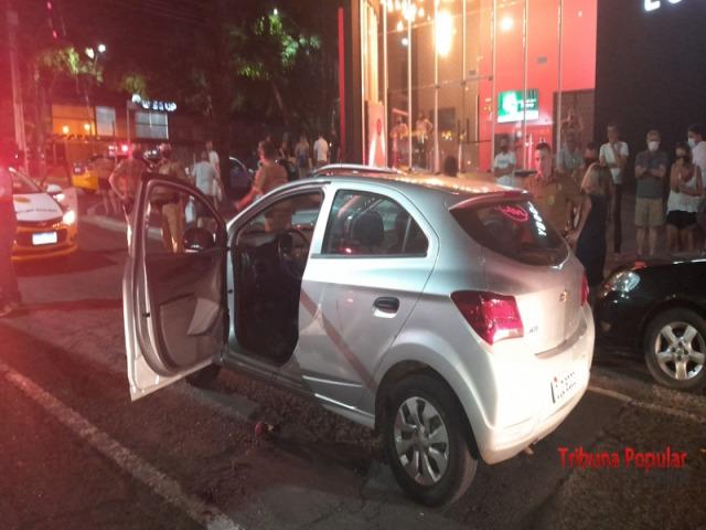 Acribillaron a un empresario en un semáforo en Foz do Iguazú