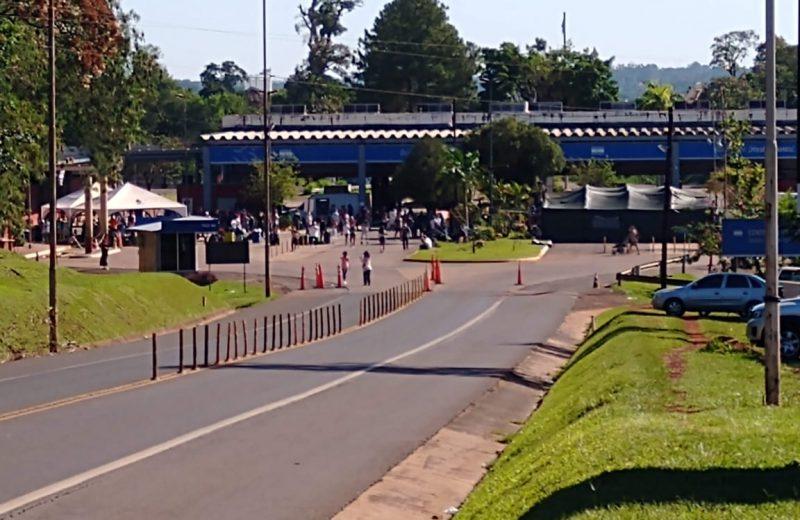12 ciudades fronterizas se unen al pedido de reapertura de los pasos entre Brasil y Argentina