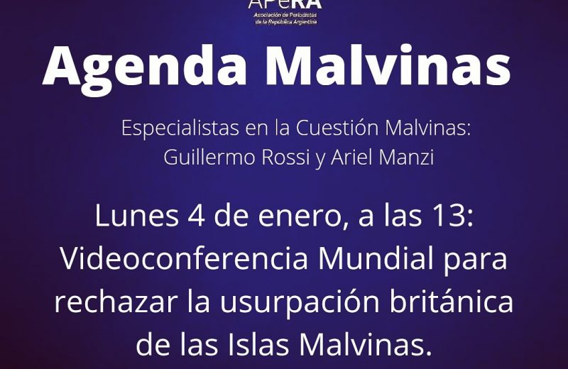 Periodistas Argentinos rechazan la usurpación Británica de las Islas Malvinas
