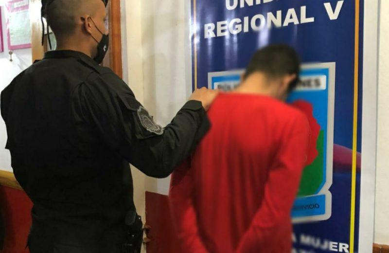 Desobedeció una orden judicial, agredió a su ex pareja y fue detenido