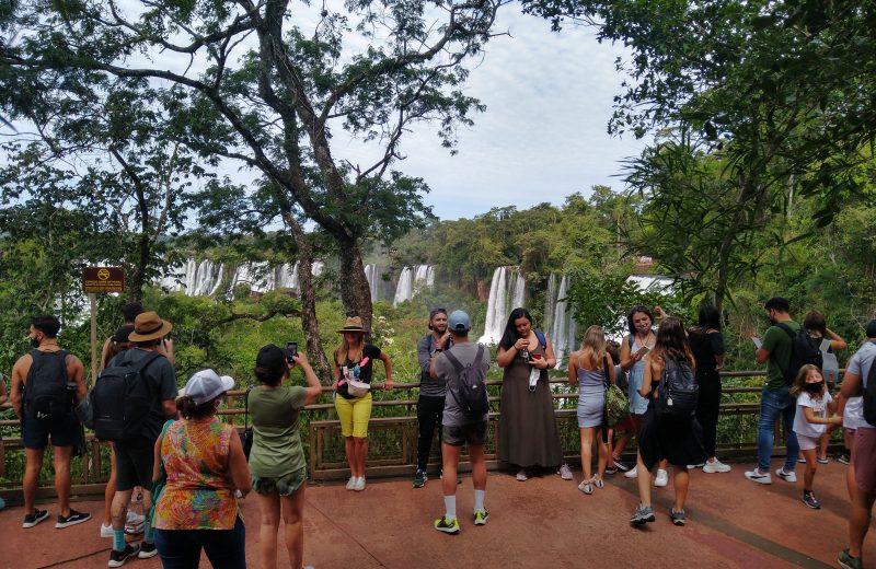 Iguazú registró un 82 por ciento de ocupación y más 9.500 ingresos a Cataratas