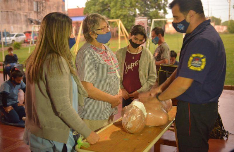 Argentina reanima: docentes del instituto Especial esperanza se capacitaron en RCP