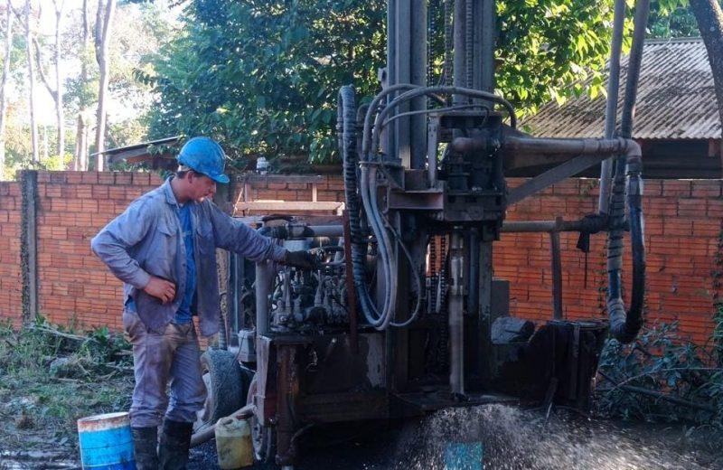 Trabajan en tres perforaciones para mejorar el servicio de distribución de agua potable