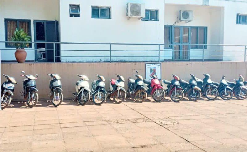 Puerto Iguazú: Atraparon a dos jóvenes acusados del robo y venta de al menos 17 motocicletas