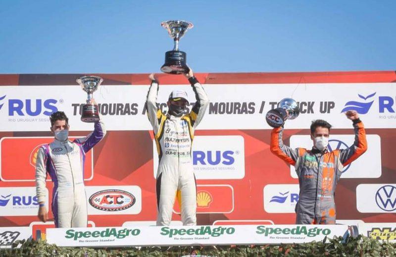 Gran podio de Bundziak en la sexta fecha del TC Mouras