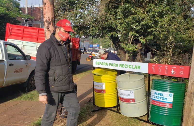 Instalan terminales de separación de residuos en varios puntos de Iguazú