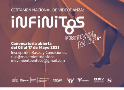 """Concurso de videodanza """"infinitos"""""""