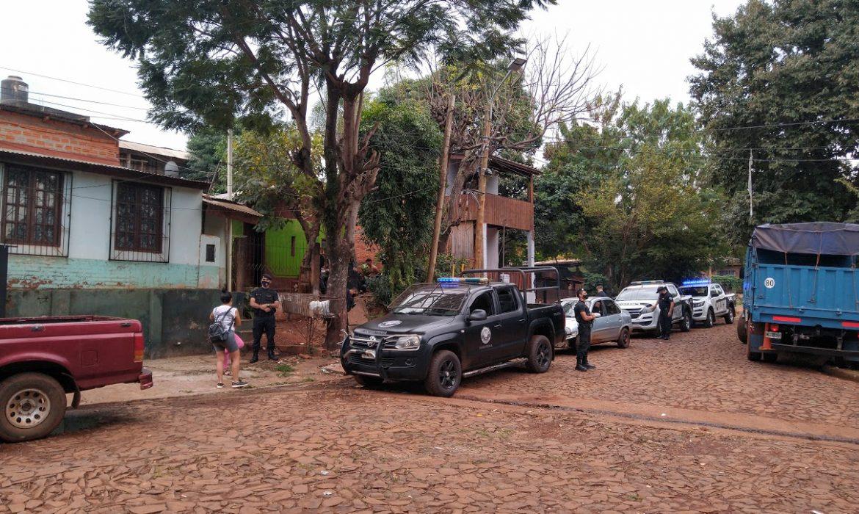 """La policía justificó el operativo en Villa Tacuara con la detención de un presunto """"Dealer"""""""