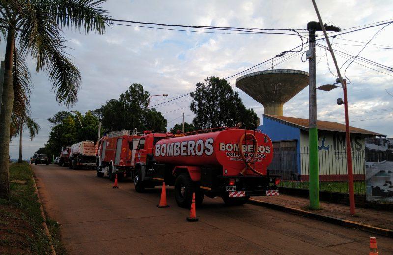 Arrancó el operativo de distribución de agua en Iguazú