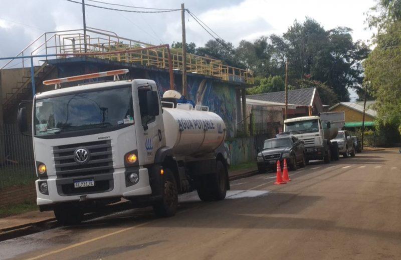 Este miércoles IMAS llevará adelante un operativo de distribución de agua en camiones