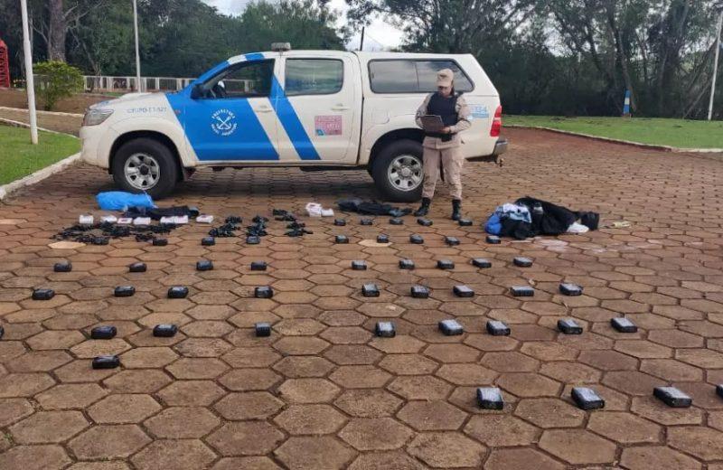Prefectura incautó un cargamento de celulares ilegales en Puerto Iguazú