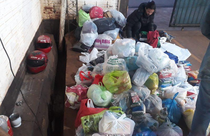 Tras el festival, las donaciones llegaron a los que más necesitan
