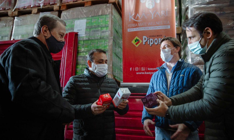 Misiones concretó la 1° exportación de yerba mate a india con la empresa Piporé