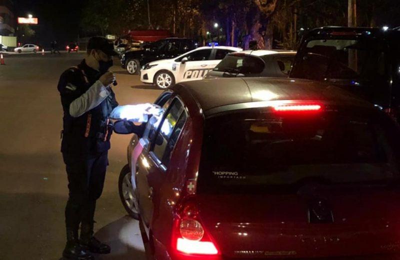 Seguridad Vial: detectaron 110 infractores y conductores ebrios detenidos uno de ellos de Wanda
