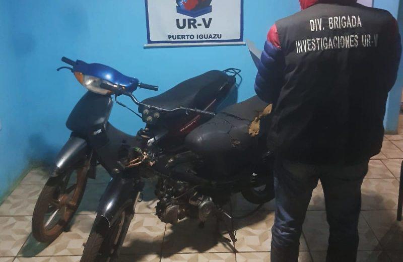 Recuperaron dos  motocicletas robadas, estaban en un taller mecánico