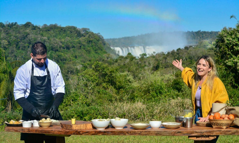 Identidad, naturaleza y biodiversidad transmitió Misiones en Cocineros Argentinos, por la TV pública