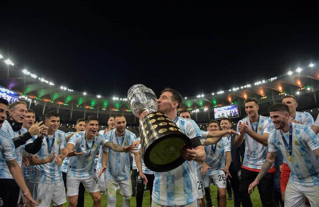 Histórico: Argentina le ganó 1-0 a Brasil y se consagró campeón de la Copa América en el Maracaná