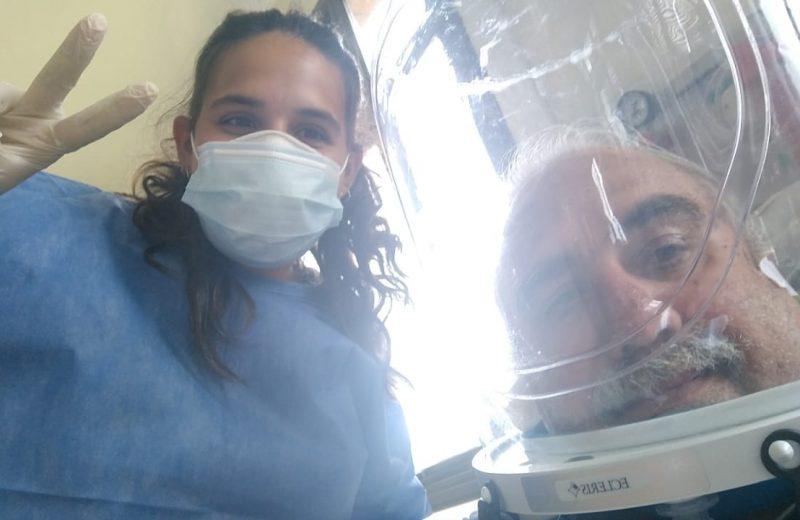 """""""Lucho para mis pacientes se recuperen, porque veo a mi papá en ellos"""""""