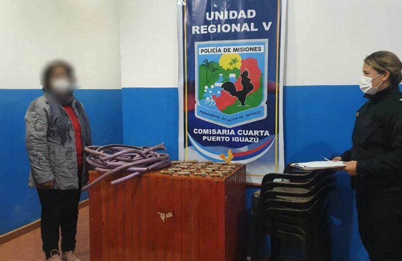 Recuperaron objetos robados de una escuela y detuvieron a tres personas