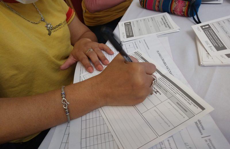 Avanza el plan de vacunación en Misiones, superamos las 600 mil vacunas aplicadas